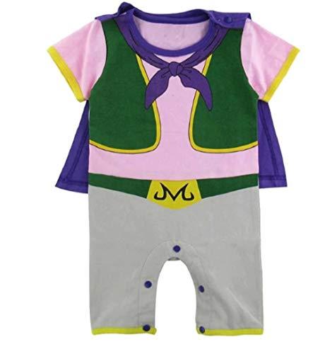 JarilnMo DBZ Baby Onesie Outfits Dragon Ball z Goku Vegeta Baby Clothing with hat,color15(6M) ()