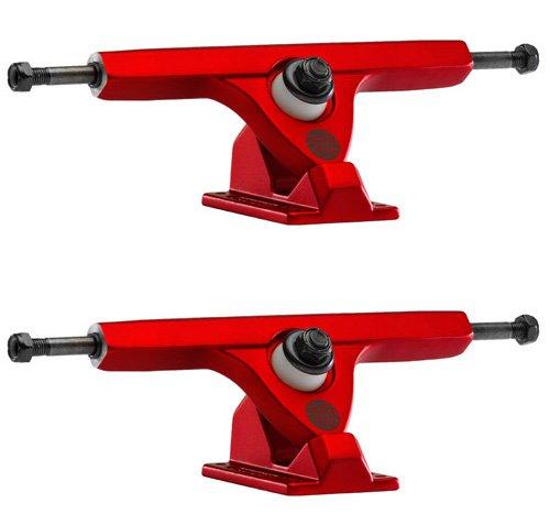 感度狂気のみCaliber II Fifty Caliber 10/50deg. Satin Red Longboard Trucks (Set of 2) by Caliber
