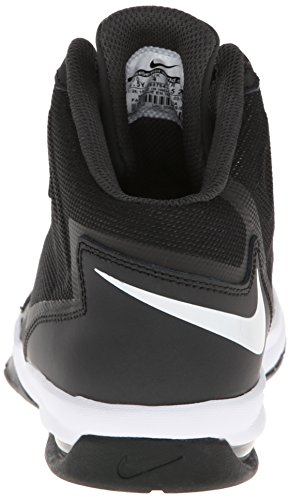 Nike Air Max Stutter Step 2 Black White Youths Trainers Black White