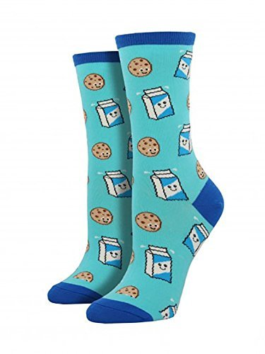 Socksmith (Cookies 'n Milk Bright Blue, One Size)