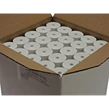 "Thermal Paper 2-1/4"" x 75' rolls 1.5"" diameter, CORELESS, BPA Free, 1 box of 100 rolls"