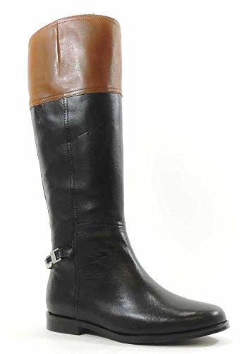 Lauren Ralph Lauren Women's Berna Vachetta Riding Boot,Bl...