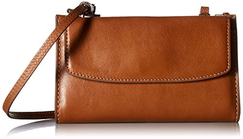 Fossil Women's SAGE Mini Bag, Saddle, One Size