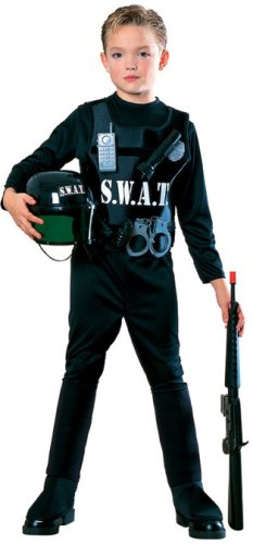 Swat Costume S W A T (Young Heroes Child's S.W.A.T. Team Costume, Small)