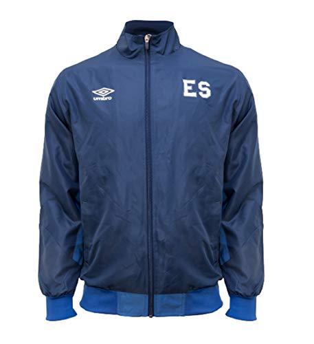 Umbro Men's El Salvador Training Jacket-Blue (XL)