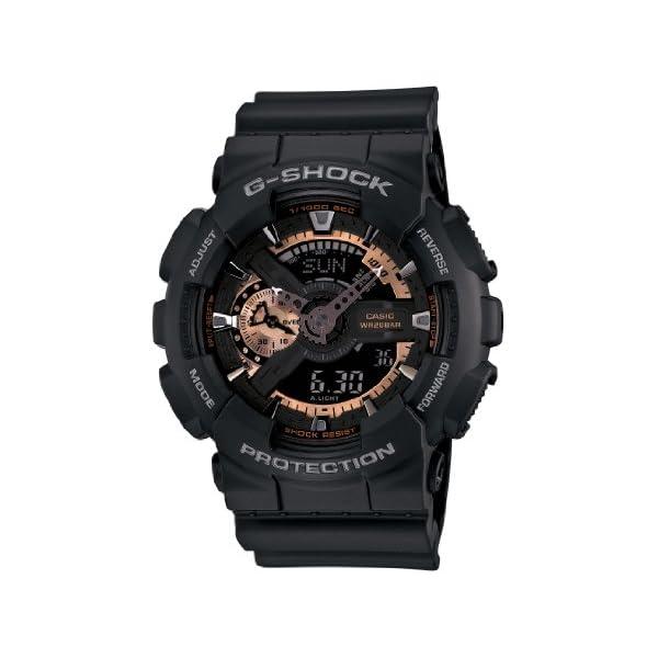 41CQBcBIppL. SS600  - Casio Men's GA110RG-1A G-Shock Black Watch