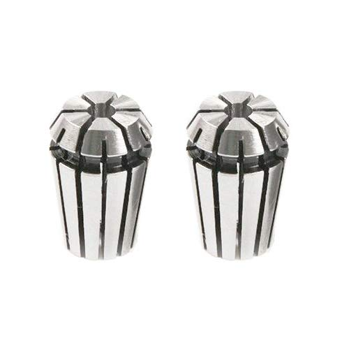 Pack of 2 Rannb Spring Collet for CNC Engraving Machine /& Milling Lathe Tool ER11 1//8