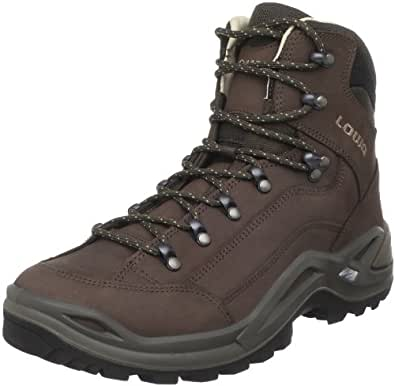 Lowa Men's Renegade II Leather-Lined Mid Hiking Boot,Espresso,7.5 M US