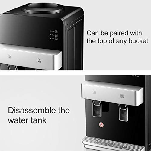 Hot Water Dispensers Domestic hot Water Dispenser Office Drinking Water Dispenser Hot and Cold Household high-end Refrigerator Office Energy Saving, Quiet and Warm by Combination Water Boilers Warmers (Image #4)