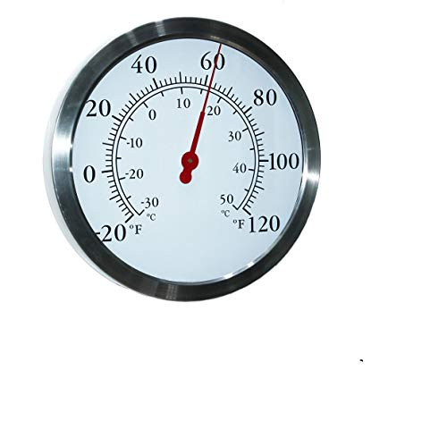 12 Inch Stainless Steel Thermometer - MIKSUS 12