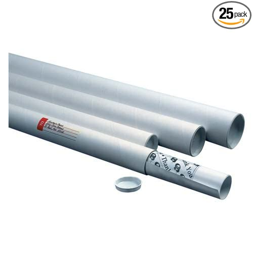 Quality Park Fiberboard Mailing Tube QUA46026