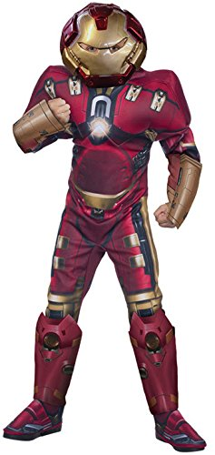 [Rubie's Costume Avengers 2 Age of Ultron Child's Deluxe Hulk Buster Iron Man Costume, Small] (Marvel Super Villains Costumes)