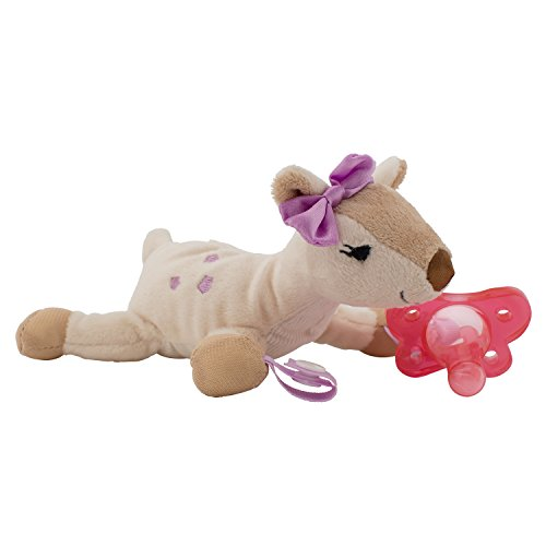 Dr. Brown's Lovey Deer with Pink Pacifier