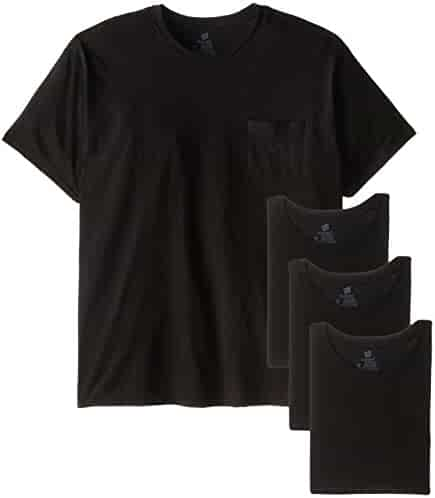 Hanes Men's Fresh IQ Pocket T-Shirt