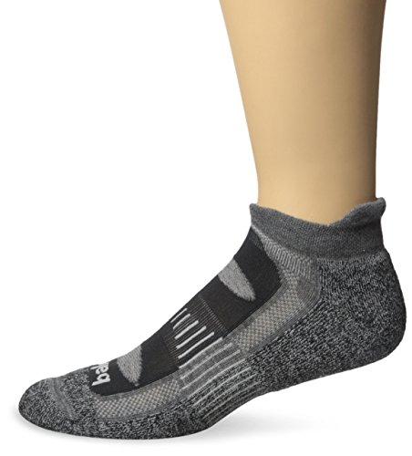 Balega Blister Resist No Show Socks, Charcoal, Medium
