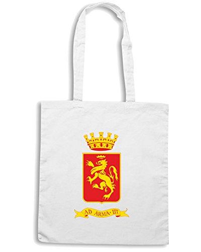 T-Shirtshock - Bolsa para la compra TM0138 Ventimiglia citta Blanco