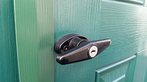 Amazon.com: Keyed Alike Pair of Shed Door T-Handle Locks - Includes ...