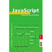 JavaScript: Programme für die Website