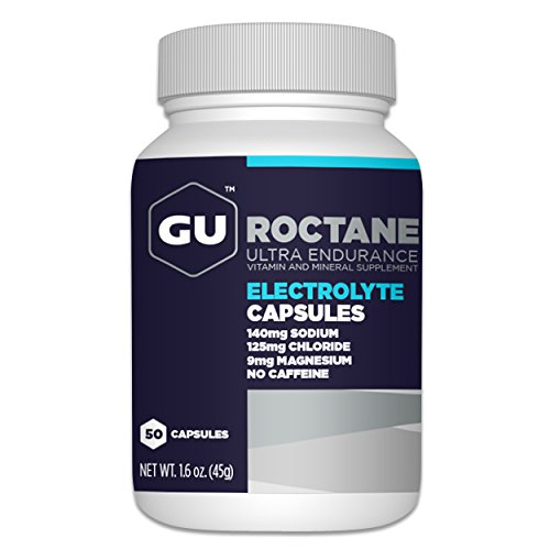 Price comparison product image GU Roctane Electrolyte Capsules, 50-Count Bottle