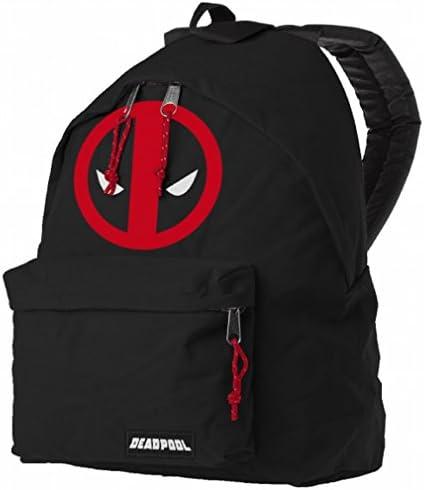 Marvel Comics Deadpool Mochila – Mask Logo Back Pack Negro: Amazon.es: Equipaje