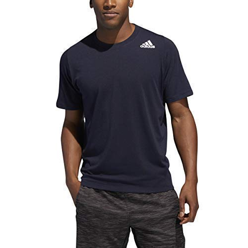 best cheap f347c cc624 adidas Men s Freelift Sport Tee, Legend Ink, Small