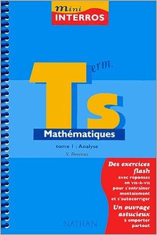 Livre gratuits Mini-interros, mathématiques niveau terminale S, tome 1 epub, pdf