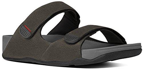 FitFlop™ Mens Gogh™ Slide Sandal Cool Grey Size 11