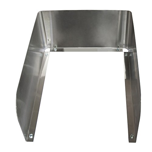 BK Resources BK-DI1014-SS After Market Stainless Steel 3 Sided Side Splash for 10