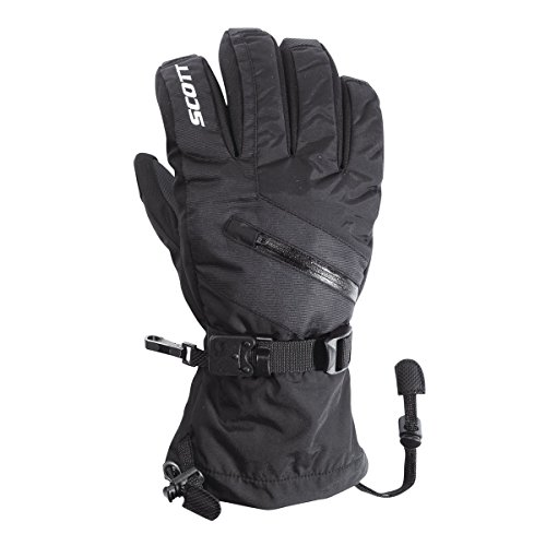 (Scott Mens Traverse Full Finger Gloves - 240047 (Black - S))