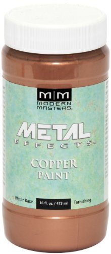 Modern Masters ME-149 Reactive Metallic Paint Copper, 16-Ounce (Paint Exterior Copper)