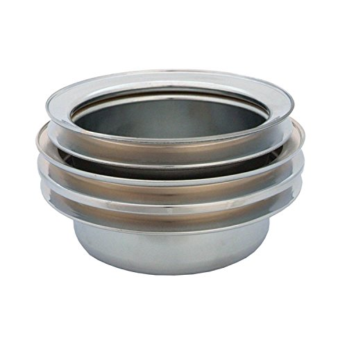 Spectre Performance 4495 Chrome Triple Belt Crankshaft Pulley for Ford - Ford Crank Pulley