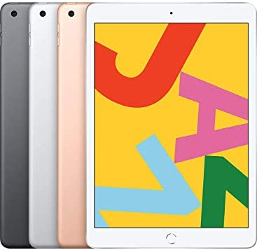 Apple iPad (10.2-Inch, Wi-Fi + Cellular, 32GB) - Gold seventh Generation (Renewed)