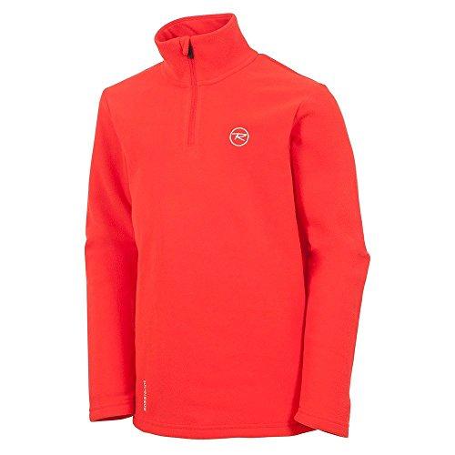 Rossignol Boy 1/2-Zip Fleece Turtleneck Mid-Layer Boys Crimson