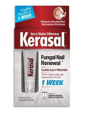 Kerasal Fungal Nail Renewal Treatment 2 Pack (10ml, Each) Unique Flavors