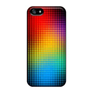 Waterdrop Snap-on Cubed Colors Case For Iphone 5/5s