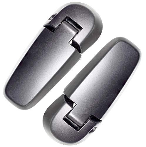 APDTY 133623 Back Hatch Lift Gate Glass Upper Hinge Set Fits 2006-2010 Ford Explorer 4-Door or Mercury Mountaineer 4-Door (Rear Left & Right; Replaces 6L2Z-78420A68-A, 6L2Z-78420A69-AA) (Door Ford Right Explorer)