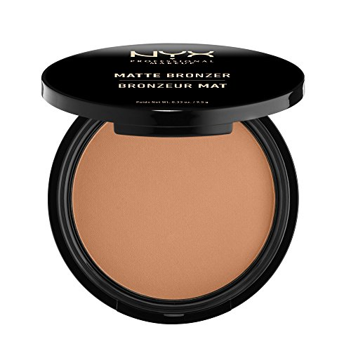 NYX PROFESSIONAL MAKEUP Matte Bronzer, Light, 0.33 Ounce
