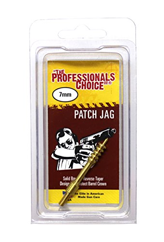 The Professional's Choice Brass Patch Jag, 7mm