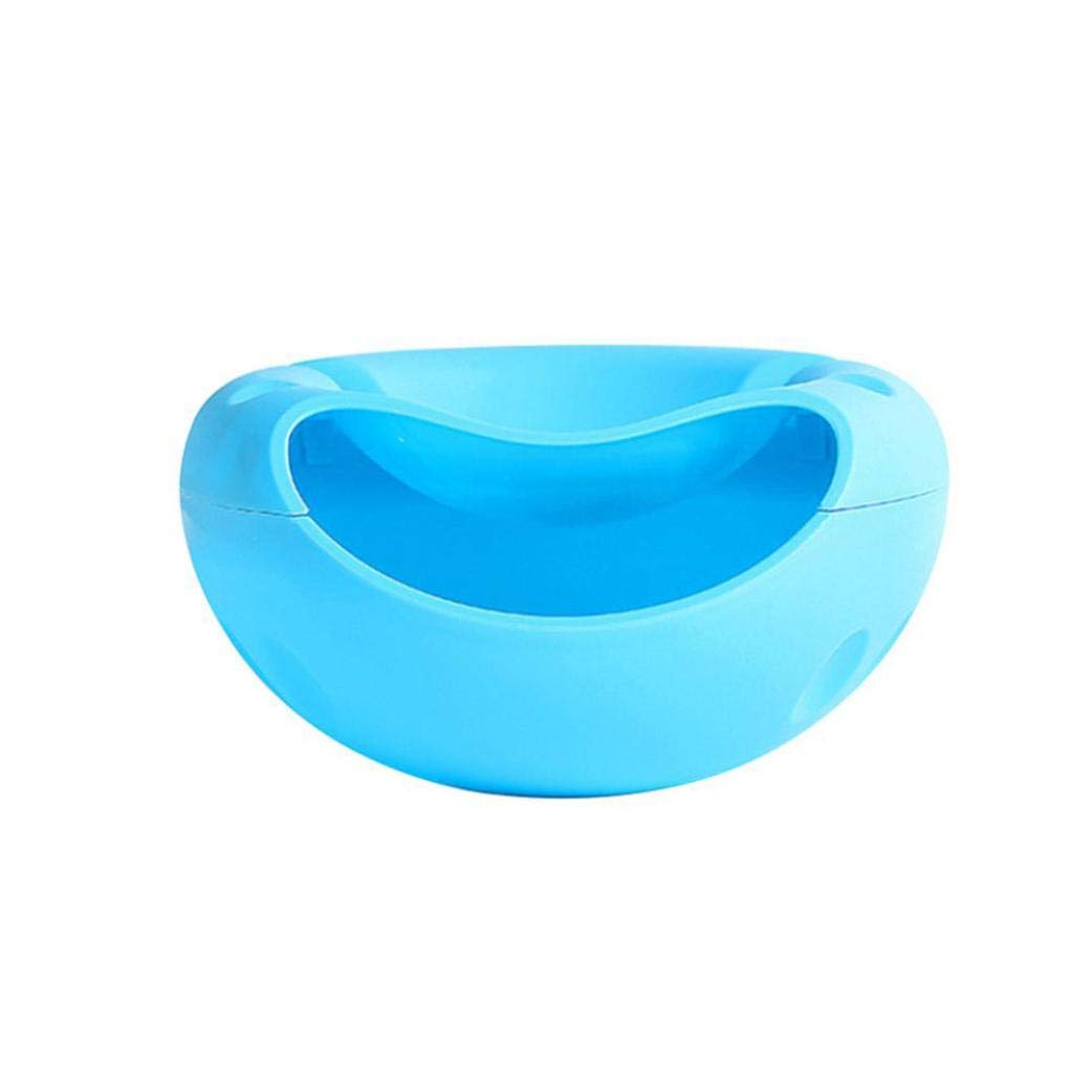 LiPing 4.3×8.5'' Creative Shape Bowl Perfect For Seeds Nuts And Dry Fruits Storage Box Soup Bowl for Salad, Fruit, Dessert, Snack, Small Serving and Mixing Bowls. (E)