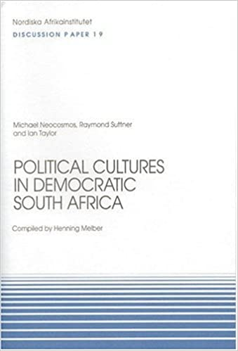 Book Political Cultures in Democratic South Africa: Discussion Paper No. 19 (NAI Discussion Papers)