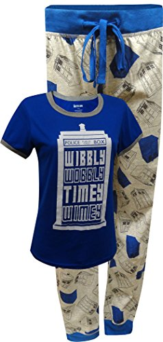 Doctor Who Tardis Pajama Set