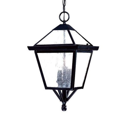 Collection Black Outdoor Hanging Lantern - 6