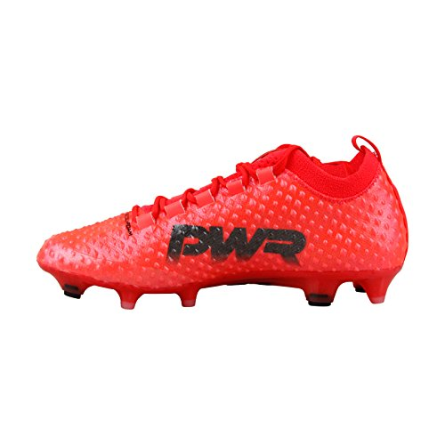 Shoes Leather Red Cleats Power Soccer up PUMA Evo Mens Athletic Lace 8 5 w11vx