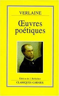 Oeuvres poétiques par Émile Zola