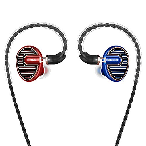 SIMGOT EN700 PRO High Fidelity in-Ear Monitor Headphones with Detachable Cable, Sound Stereo IEM Earphones with Dynamic…