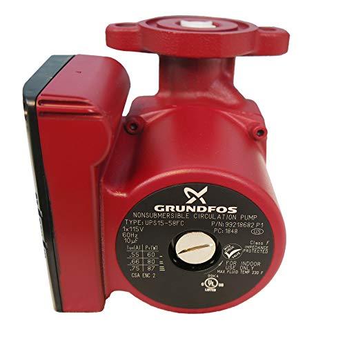 Grundfos 59896341 Super Brute Circulator UPS15-58FC