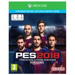 Pro Evolution Soccer PES 2018 - Legendary Edition (Xbox One ...
