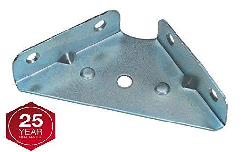 Soporte de montaje en esquina de 65 mm para armario de pared, 10 unidades Gas N Pow3r