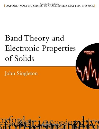 Band Theory And Electronic Properties Of Solids (Oxford Master Series In Condensed Matter Physics) (Oxford Master Series in Physics, Band 2)