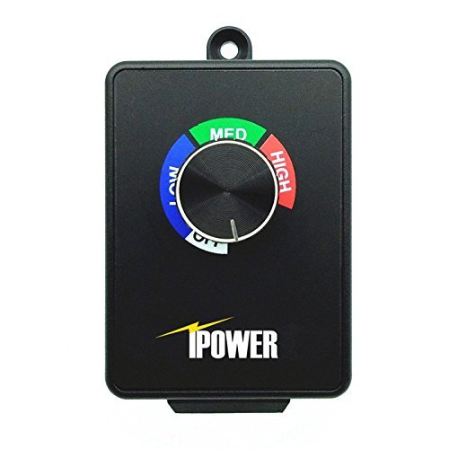 iPower Exhaust Fan Speed Controller Adjuster Duct Inline Fan Vent Blower 350W by iPower (Image #2)